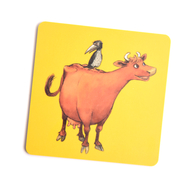 Coaster Mamma Moo and Crow (yellow)