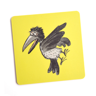 Coaster Crow (yellow)