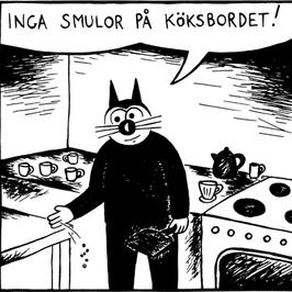 Magnet Klas Katt 'Smulor'