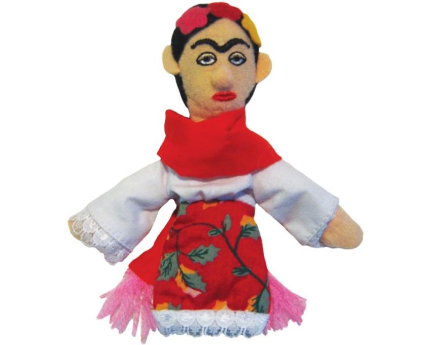 Magnet Frida Kahlo finger puppet