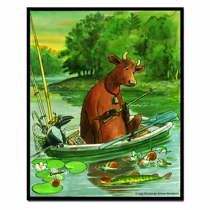 Magnet Mamma Moo, Fishing