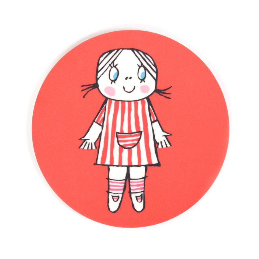 Lasinalunen Lilla Anna (punainen)