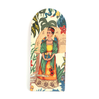 Cutting Board Frida Kahlo (beige w bird)