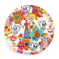 Round Tray 31 cm Day of the Dead (beige)