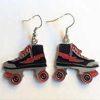 Earrings Roller skates