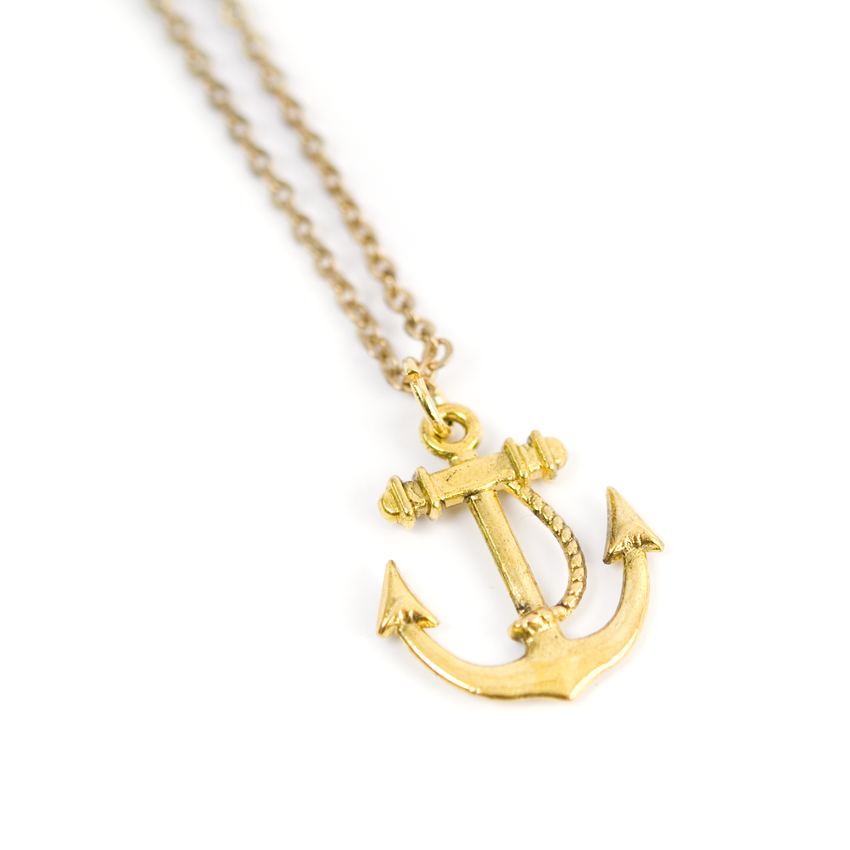 Necklace Anchor (gold)