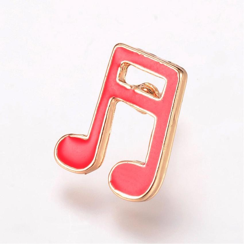 Brosch pin musiknot