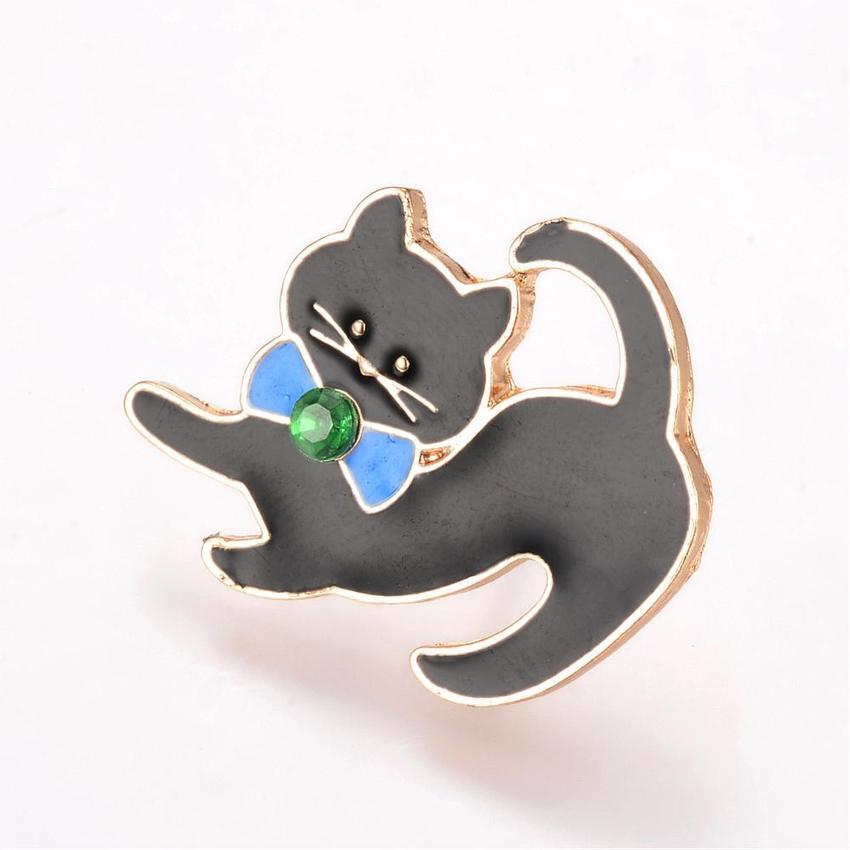 Brosch pin katt