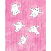 Poster Spöket Laban 24x30 cm