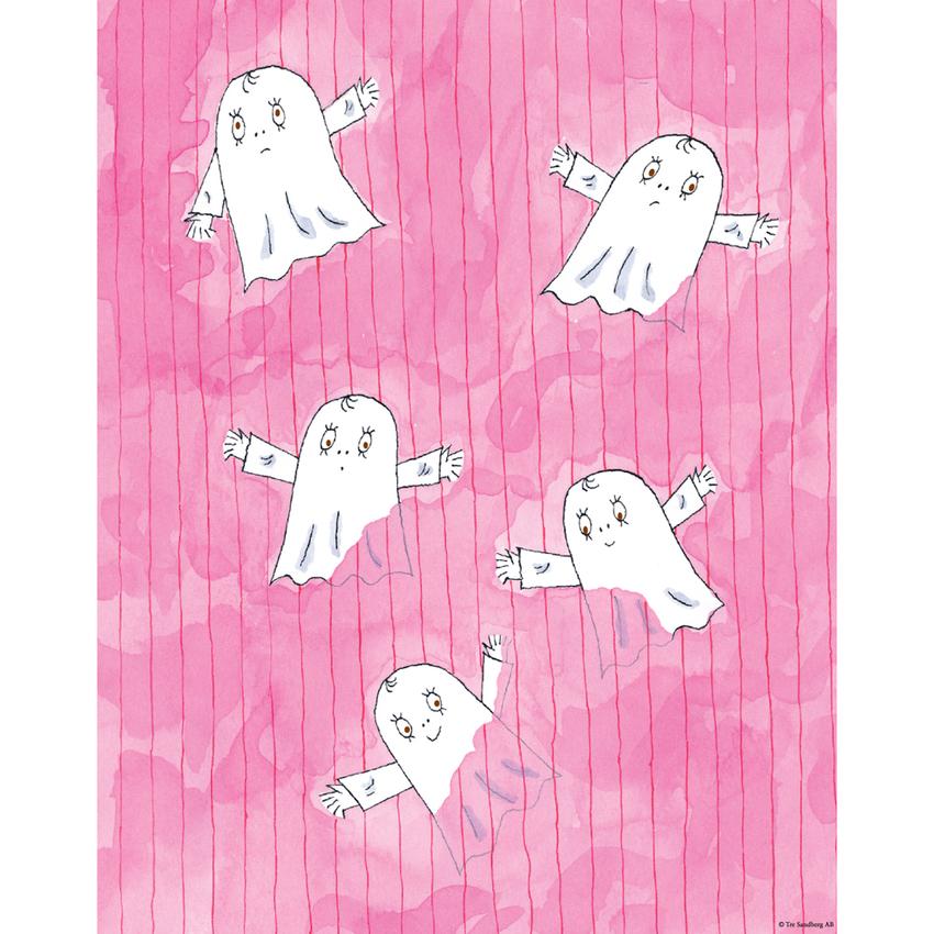 Affisch Spöket Laban 24x30 cm